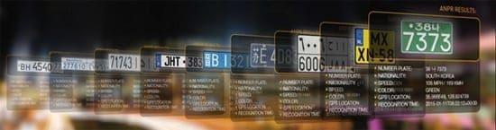license plate reader